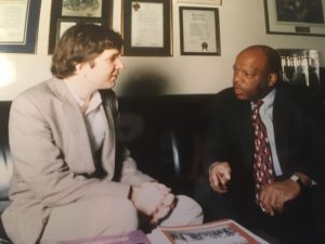 My Long Lost Conversation on Nonviolence with John Lewis